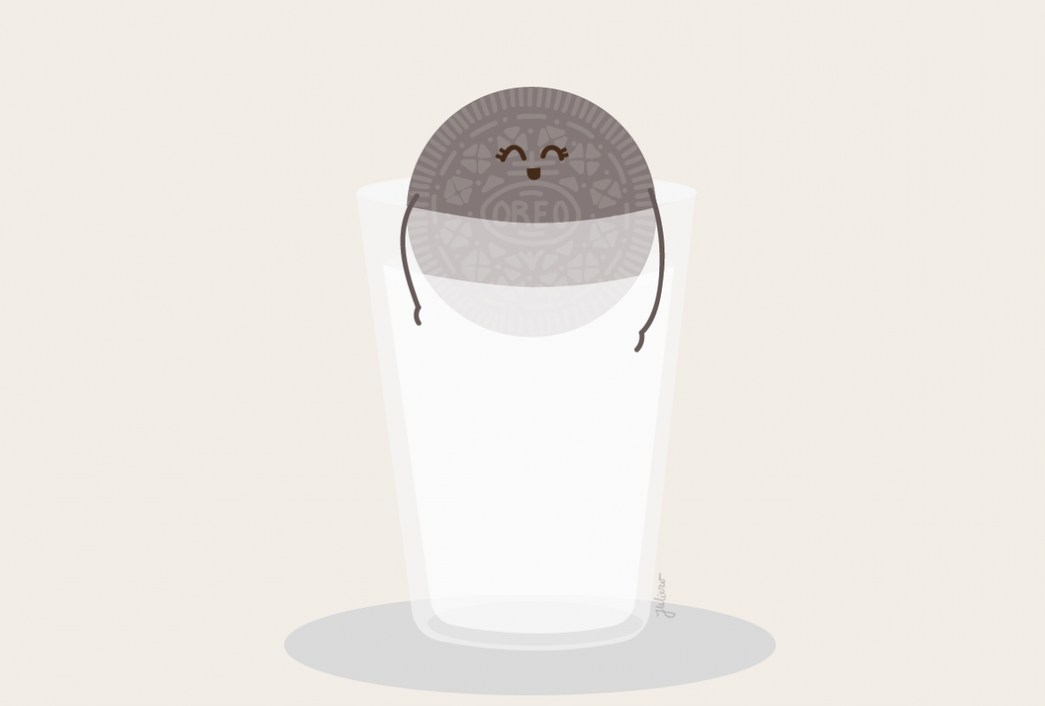 oreo illustration
