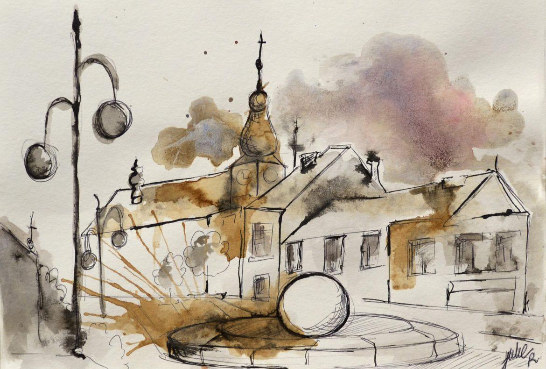 painting czech republic Holesov