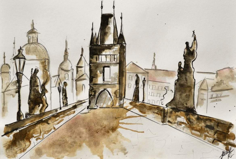 painting czech republic Praha