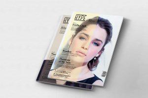 Magazine cover design Hype Juliero