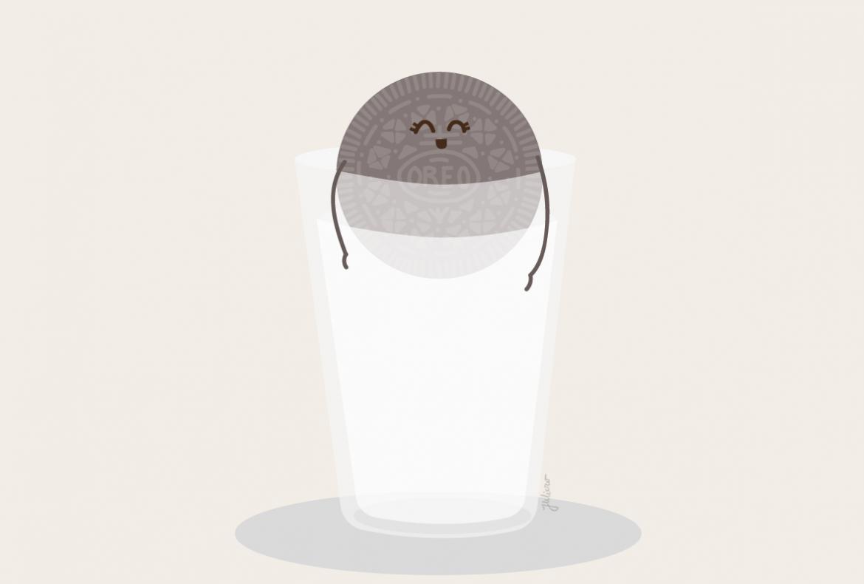 oreo illustration