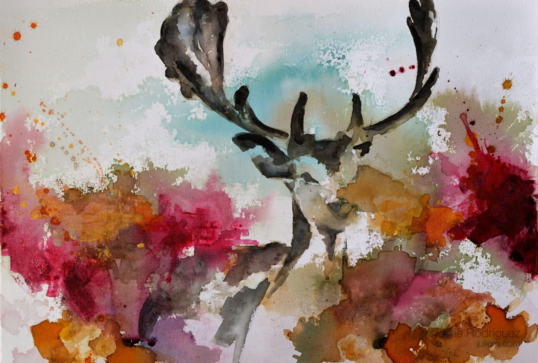 rangifer painting